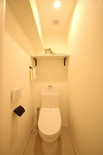 すっきり使いやすく、清潔で快適な空間になっています。